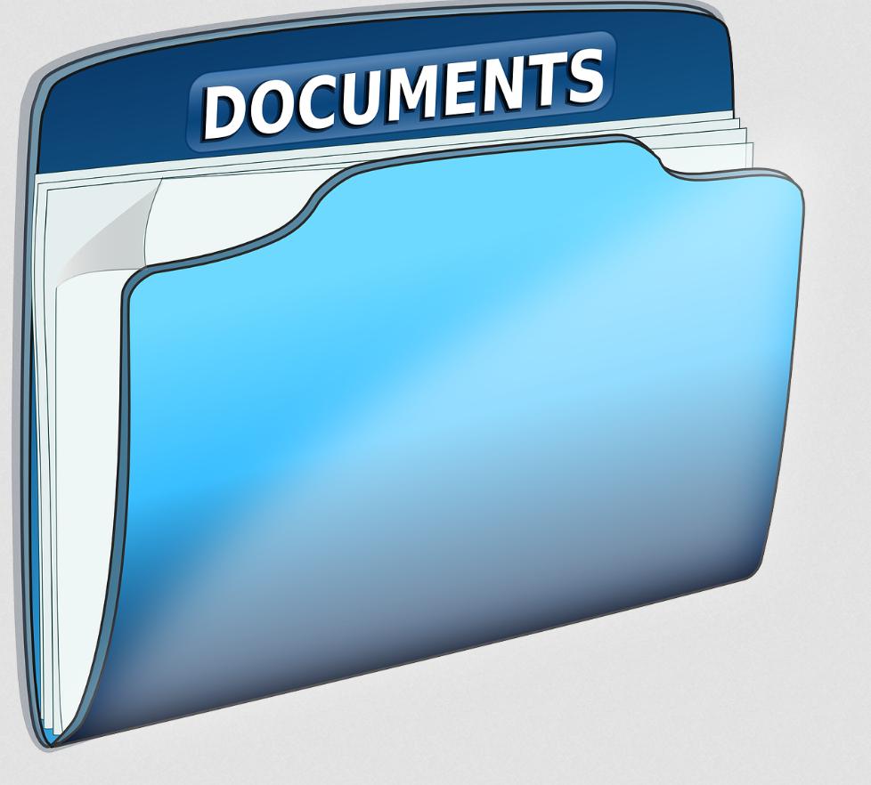 folder na dokumenty